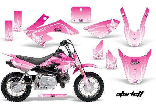 HONDA CRF50 2004-2013 MX Dirt Bike Graphic Kit Sticker Decals CR 50 STARLETT PINK
