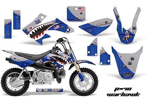 HONDA CRF50 2004-2013 MX Dirt Bike Graphic Kit Sticker Decals CR 50 WARHAWK BLUE