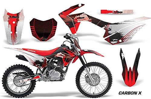 Honda CRF125F 2014-2018 MX Dirt Bike Graphic Kit Sticker Decals CRF 125 F CARBONX RED