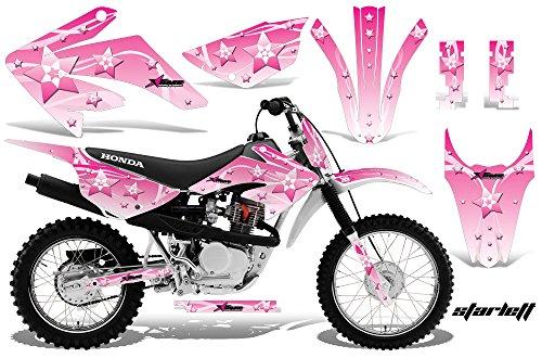 Honda CRF80 CRF100 2011-2016 MX Dirt Bike Graphic Kit Sticker Decals CRF 80 100 STARLETT PINK