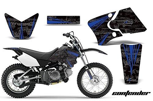 Yamaha TTR90 2000-2007 MX Dirt Bike Graphic Kit Sticker Decals TTR 90 CONTENDER BLUE
