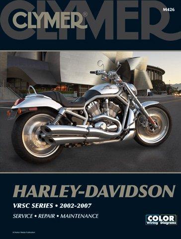 2002-2007 Harley Davidson V-Rod CLYMER MANUAL HD V-ROD 02-07 Manufacturer CLYMER Manufacturer Part Number M426-AD Stock Photo - Actual parts may vary