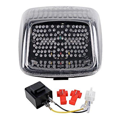 Smoke Integrated LED Turn Signal Arrow Blinker Lamp Running Brake Stop Tail Light For 2002-2011 Harley Davidson V-rod Load Resistor