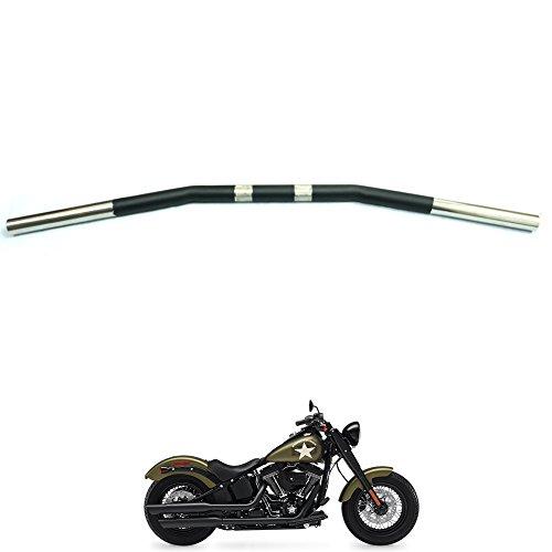 1 Standard Drag Handlebar For Harley Davidson Softail Custom FXSTC Deluxe FLSTN FXSTD Fat Boy EFI FLSTFI Heritage Classic FLSTC Heritage FLST Standard FXST