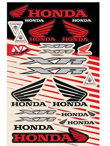 N-Style N30-1058 Universal Sticker Kit - Honda Style 5