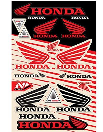 N-Style N30-1059 Universal Sticker Kit - Honda Style 6