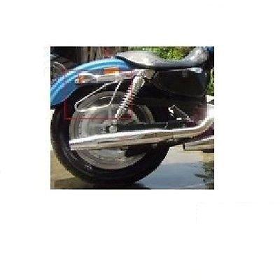 Detachable Motorcycle SaddleBags Brackets For Harley Davidson Dyna Super Glide