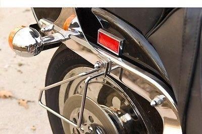 Detachable Motorcycle Saddlebags Brackets for Honda Shadow 1100 Sabre Spirit