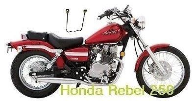 Motorcycle SaddleBags Brackets Set for Honda Rebel Series models Support Pair