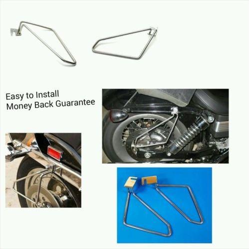 Motorcycle saddlebags brackets for suzuki boulevard S40 LS650 savage