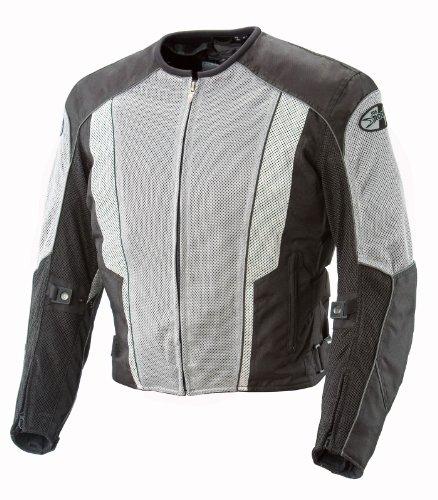 Joe Rocket Mens Phoenix 50 Mesh Textile Motorcycle Jacket BlackBlack Extra Large-Tall XL-Tall