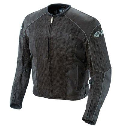 Joe Rocket Mens Phoenix 50 Mesh Textile Motorcycle Jacket BlackBlack Medium-Tall M-Tall