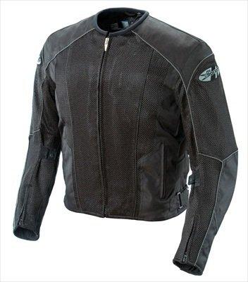 Joe Rocket Phoenix 50 Mesh Textile Motorcycle Jacket BlackBlack