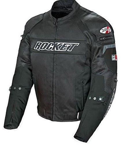 Joe Rocket Resistor Mesh Textile Motorcycle Jacket Black X-Large