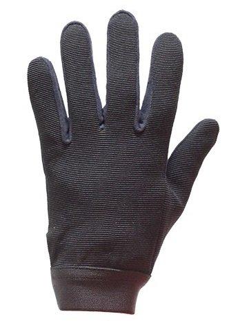 Mens Mesh Textile Motorcycle Mechanics Gloves Size L LG Large