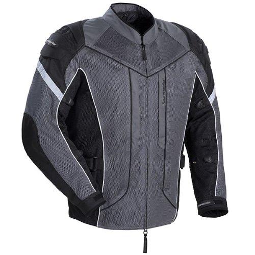 Tourmaster Sonora Air Womens GunmetalSilver MeshTextile Jacket - Plus Small