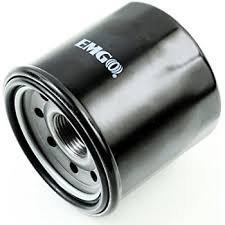 Black Spin-On Oil Filter for Aprilia 125 SR Motard 4T 2012-2014