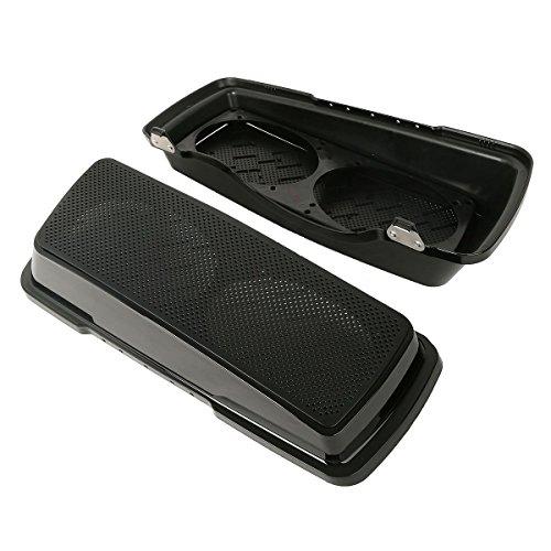 ABS Dual 6x9 Saddlebag Speaker Lids For Harley Davidson Touring Models 1993-2013