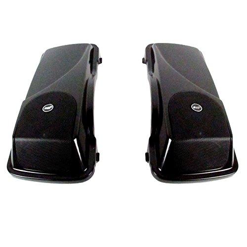 J&M Rokker XXR 5 x 7 Saddlebag Lid Speaker kit for 1998-2013 Harley-Davidson Touring models - HSBL-065x7-XXR