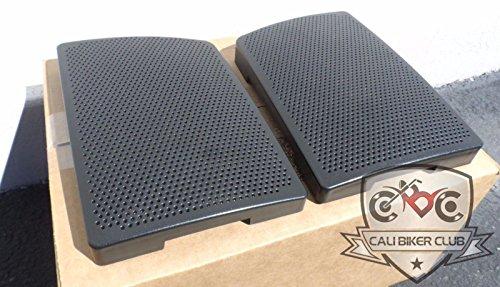 Saddlebag Speaker Lid Grills for 6x9 Speaker Lid for Harley-Davidson Touring Models GRILLS ONLY