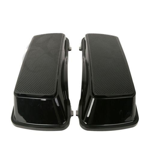 TCMT ABS Dual 6x9 Saddlebag Speaker Lids For Harley Davidson Touring Models 1993-2013