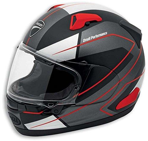 Ducati Recon Quantam X Helmet by Arai Drudi Performance Design Black Large