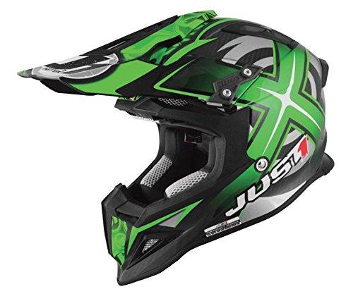 Just 1 J12 Mister X Helmet Gender MensUnisex Helmet Type Offroad Helmets Helmet Category Offroad Distinct Name Green Primary Color Green Size Lg J1J388GNCBMXL