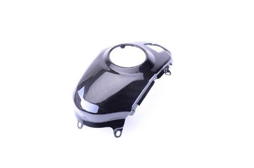 Bestem CBDU-MUL12-TKC Black Carbon Fiber Tank Cover for Ducati Multistrada 1200 2010 - 2013