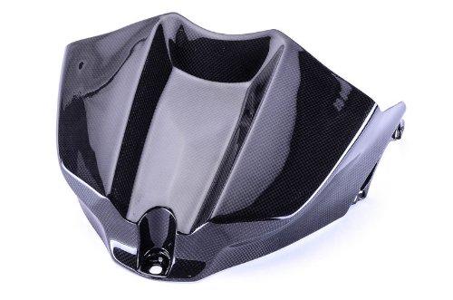 Bestem CBYA-R109-TKC Black Carbon Fiber Tank Cover for Yamaha YZF R1 2009 - 2013