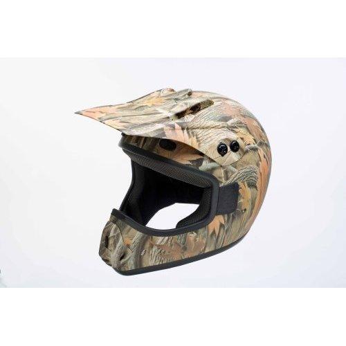 GPX Camouflage Mx  ATV Helmet X-Large
