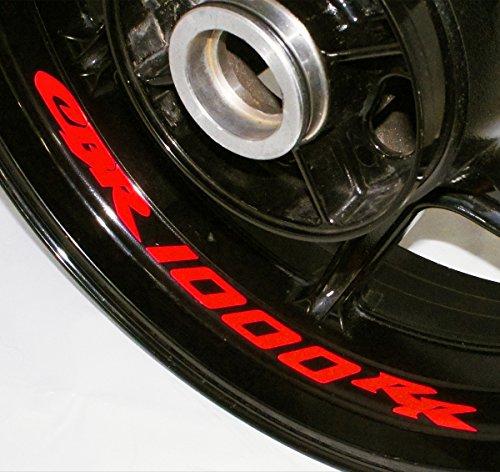 AFBA Honda CBR1000RR Inner Rim Motorcycle Sticker Decal Stripe Gloss Red