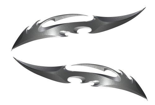 Blade Kawasaki Ninja ZX 14R 12R 10R 7R 6R 650R 600 250R Suzuki GSXR 1000 750 600 Hayabusa Yamaha YZF R1 R6 FZ1 FZ6 FZ8 Honda CBR 1000RR 600RR 600 F4I Motorcycle Sticker Decal
