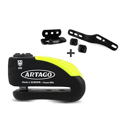 Disc brake lock Kawasaki Z 650 2017 Artago 30x14  Mounting kit K402