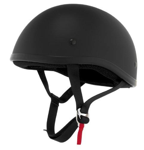 Skid Lid Helmets Original Solid Helmet  Size Md Primary Color Black Helmet Category Street Distinct Name Flat Black Helmet Type Half Helmets Gender MensUnisex XF64-6632