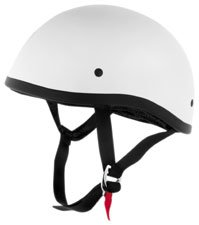 Skid Lid Helmets SL ORIGINAL WHITE SIZELRG Motorcycle HELMETS