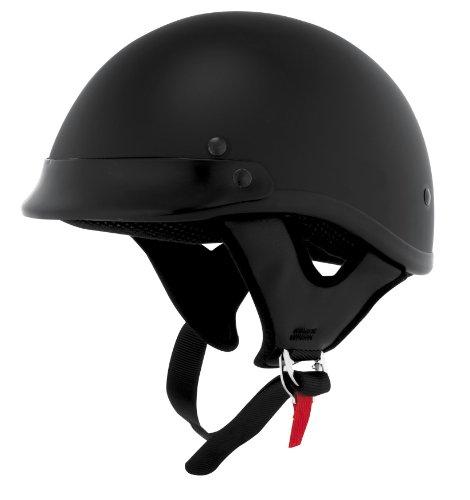 Skid Lid Helmets Traditional Solid Helmet  Size Sm Primary Color Black Helmet Category Street Distinct Name Flat Black Helmet Type Half Helmets Gender MensUnisex XF64-6821