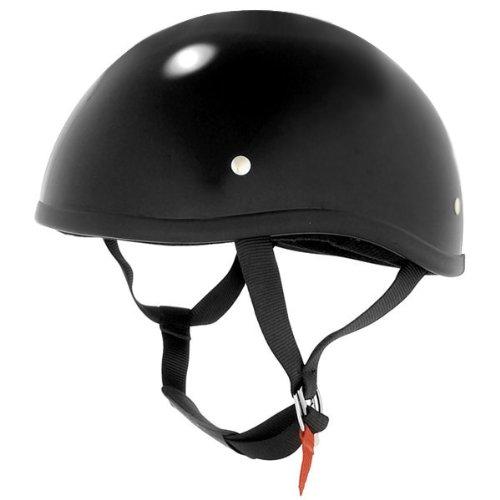 Skid Lid Naked Shorty Black Helmet M