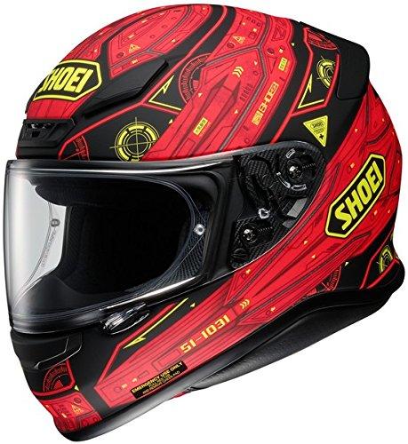 Shoei Vessel RF-1200 Street Bike Racing Motorcycle Helmet - TC-1  Large