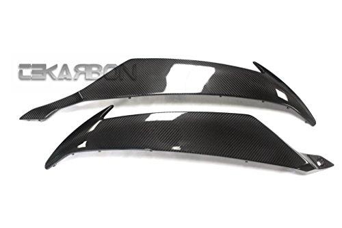 2008 - 2014 Yamaha YZF R6 Carbon Fiber Side Panels - twill