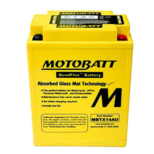 NEW AGM Battery For Honda CB750SC Nighthawk CB900C CBR1000F Hurricane Motorcycle