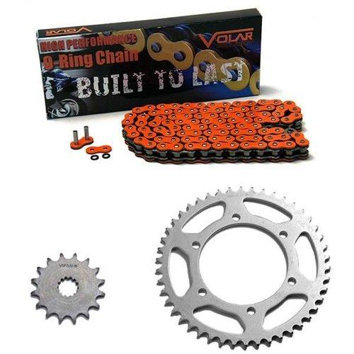 1999-2001 Triumph Adventurer 900 O-Ring Chain and Sprocket Kit Orange