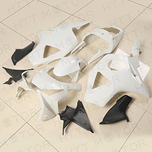 XKMT Group UNPAINTED Plastic Fairing Cowl Bodywork For Honda CBR900RR CBR 954 RR 2002-2003