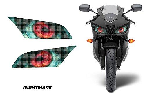 AMR Racing Sport Bike Headlight Eye Graphic Decal Cover for Honda CBR 600 RR 09-12 - Nightmare