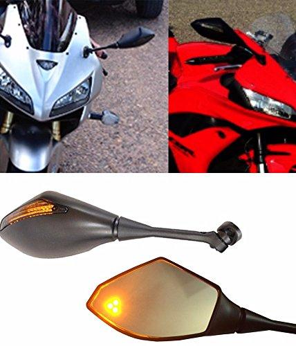Honda CBR 600 RR CBR600RR Turn Signal Integrated Mirrors 2003-2017