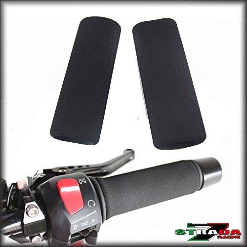 Strada 7 Motorcycle Foam Grip Covers for Honda CBR1100 XX Super Blackbird