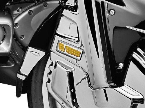 01-05 HONDA GL1800 Kuryakyn LED Front Reflector Conversion