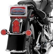 2005 Harley Davidson FLSTN Softail Deluxe Tombstone LED Taillight Conversion Manufacturer Kuryakyn LED TAILLIGHT CONV TOMBSTONE