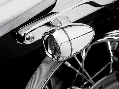 Kuryakyn LED Rear TS Converter Bullet Smoke Harley Davidson XL FXD FXST
