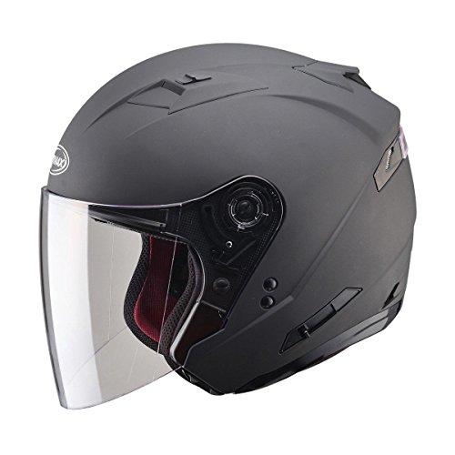 GMax OF77 Matte Black Open Face Helmet - X-Large