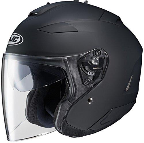 HJC IS-33 II Matte Black Open Face Helmet 2XL